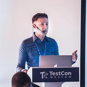 Sergej Mudruk TestCon Moscow